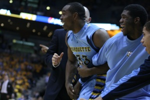 The coaching staff and players agreed: 2011's team was one of the closest-knit they had ever been around. (Marquette Tribune Photo)