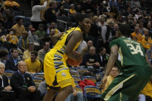 USF stop me? LOL (Marquette Tribune Photo)