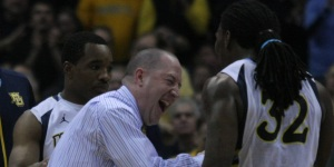 You think Buzz is going to miss this guy? (Marquette Tribune Photo)