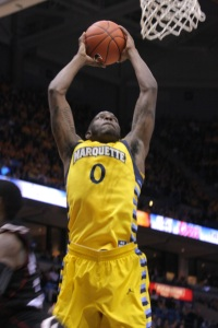 Redshirt junior Jamil Wilson should provide plenty of highlights at the Milwaukee Pro-Am. (Marquette Tribune)