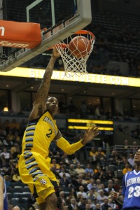 Vander Blue will be expected to carry a bigger load on both ends of the floor this year (Marquette Tribune).