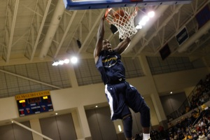 Though undersized for an NBA 2-guard, Johnson-Odom explosiveness put him on scouts radars. (Marquette Tribune Photo)