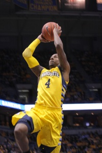 Todd Mayo is a new man with a new-found relationship with Buzz Williams. (Marquette Tribune)