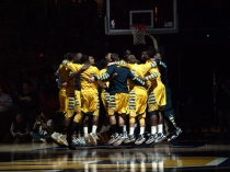 The road gets tougher for Marquette, starting with a Sunday showdown against Louisville.