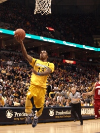 Vander Blue's 17 points against Wisconsin paced Marquette in a 60-50 win.