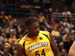Davante Gardner has been Marquette's first half MVP.