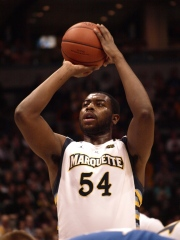 Davante Gardner's free throw percentage is incredibly high, and carrying a Marquette offense averaging 69.9 points per game.
