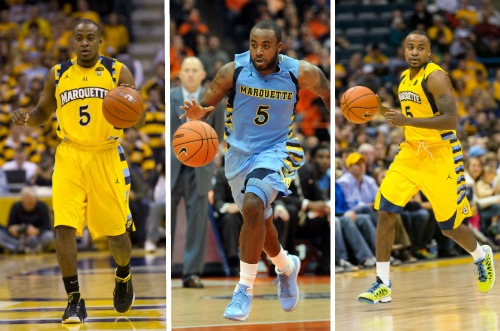 Junior Cadougan has provided some memorable moments his final three years at Marquette (USA TODAY Photos)