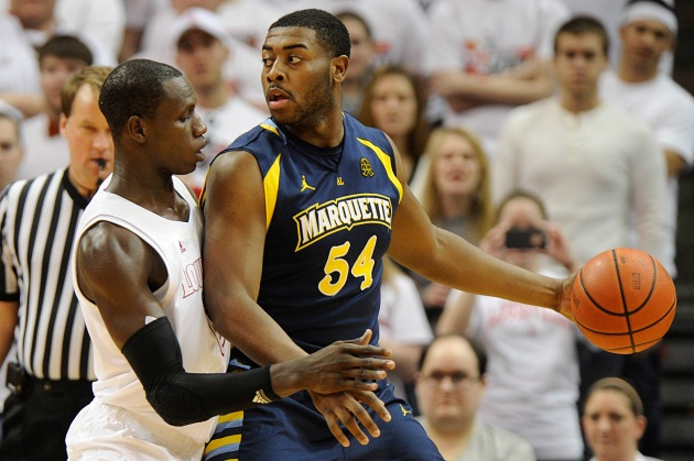 Davante Gardner has made Marquette a dominant team in the paint. (USA Today)