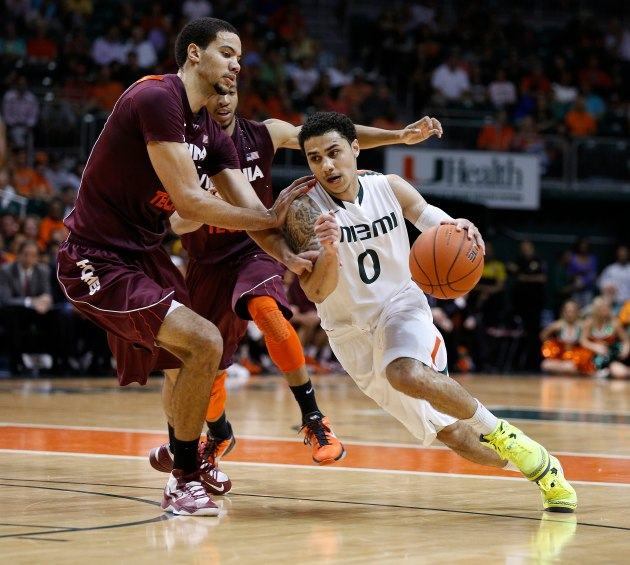 Shane Larkin is an effective driver in pick-and-roll situations. (USA Today)