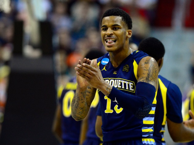 Vander Blue still isn't satisfied, just the way he wants it. (USA Today)