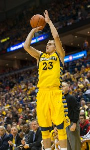Jake Thomas is set to return to Marquette just two weeks after being granted his release. (USA Today Images)