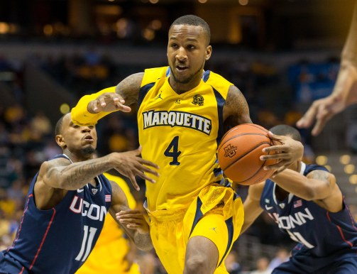 Todd Mayo is an x-factor for the Marquette backcourt this season. (USA Today)