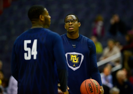 Chris Otule is a crucial part of Marquette's defense...and now its offense. (USA Today)