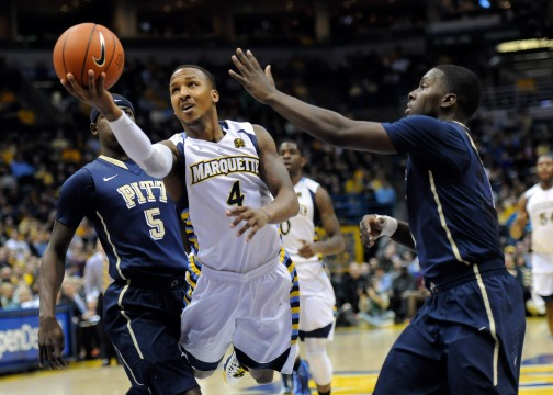 NCAA Basketball: Pittsburgh at Marquette