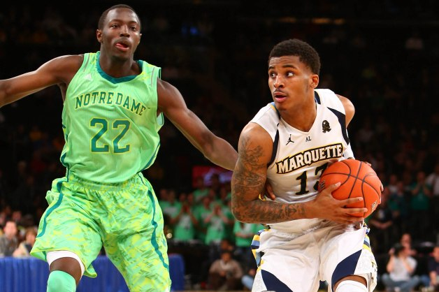 NCAA Basketball: Big East Tournament-Marquette vs Notre Dame