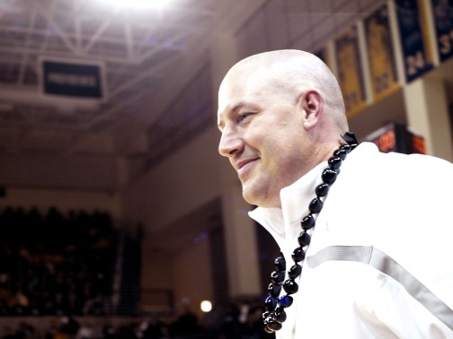 "Buzz Williams has built the Marquette brand around the structure of his ""house."""