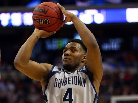 D'Vauntes Smith-Rivera is back for another year of terrorizing Big East backcourts. (Photo via si.com)