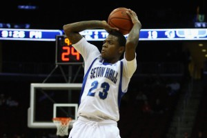 Fuquan Edwin will likely have to do the majority of scoring for Seton Hall again this year. (Photo via zimbio.com)