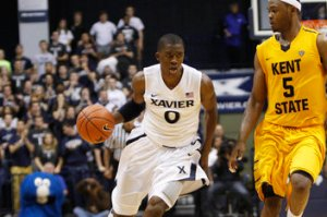 Samaj Christon led Xavier with 15.2 point per game as a freshman last year. (Photo via bannersontheparkway.com)
