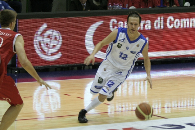 Travis Diener: Sassari (Italy); Game Stats