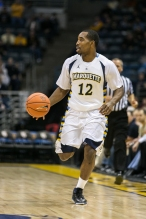Derrick Wilson's individual numbers are up, but Marquette as a team is down.