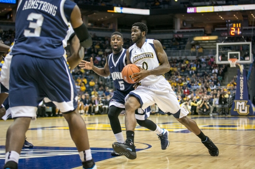 Jamil Wilson is finding his way inside, and Marquette is reaping the benefits.