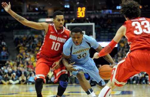 Deonte Burton is carving himself out quite a niche with Marquette. (USA Today)