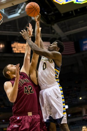 Jamil Wilson has moved back inside, and Marquette's better off for it. (USA Today)