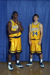 Travis Diener is being charged with connecting Marquette's past to the present.  (Photo from Marquette Athletics)