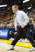 Depending on Big East results, coach Wojo might be frustrated this time next year. (Photo by Anthony Giacomino/Paint Touches)