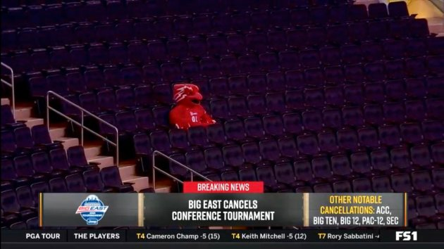 Big East Cancelled